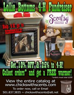 4-H Scentsy Fundraiser