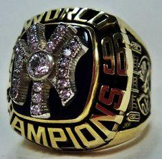 1996 New York Yankees Ring