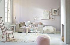 decor, interior, living rooms, soft pink, pink rooms, pale pink, inspir, live room, soft pastels