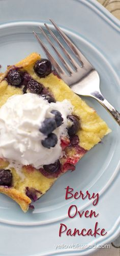 Mixed Berry Oven Pan