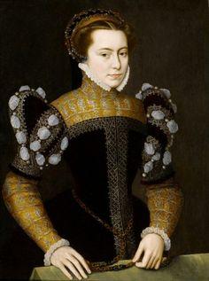 """(1519, Utrecht – 1575, Antwerp)  """"PORTRAIT OF MARGARET OF PARMA"""""""