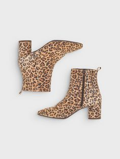 ROUND HEEL BOOTS, Le