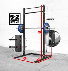 Rogue S-2 Squat Stand - perfect.