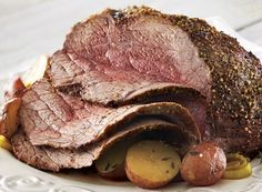 Oven Roast With Leeks and Red Potatoes