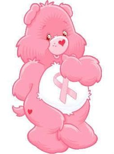 Pink Breast Cancer Awareness Carebear
