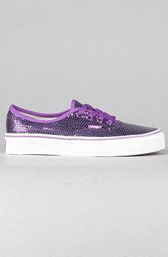 glitter purple and vans,in love.