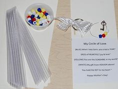 "My ""Circle of Love"" – Poem and Craft for Mother's Day! - Pinned by @PediaStaff – Please Visit  ht.ly/63sNt for all our pediatric therapy pins"