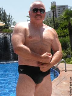 a daddy bear men hot man scuba dad