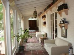 sweet tea, houses, dream, teas, back porches, spanish style, backyard porch, white porch, front porches
