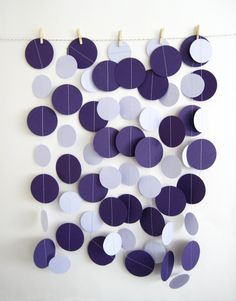 Paper circles backdrop idea again