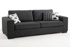 Musta outdoor sohva