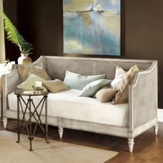 vintage daybed. very french country