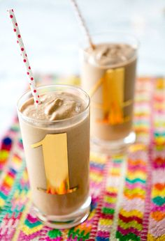 CHOCOLATE PEANUT BUTTER SHAKE {VEGAN +GF} - a house in the hills