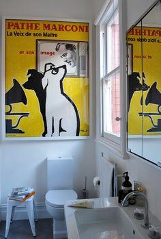 Bathroom frame
