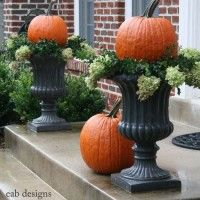 Front porch for fall