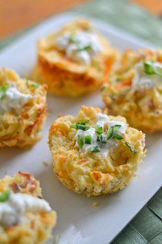 food recip, goodi foodi, cook, appet, potatoes, potato puff, yummi, cheddar potato, bacon cheddar