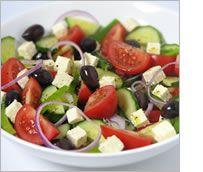 Greek Salad - Great Pacific, Pendleton OR.  I love GP!