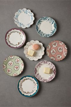 Petits Four Plates (8) in SHOP Décor For the Table at BHLDN