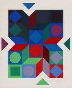 geometric : Victor Vasarely 1969