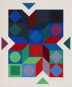 geometric : Victor Vasarely 1969