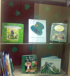 Quick Display: St. Patrick's Day ~ so tomorrow