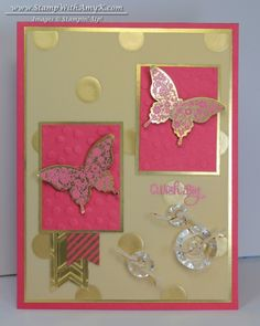 Papillon Potpourri With a Little Gold Vellum – Stampin' Up!