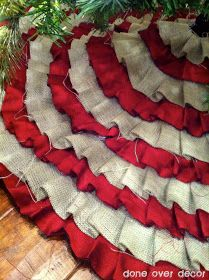 A Painted Nest: DIY | Ruffle Tree Skirt
