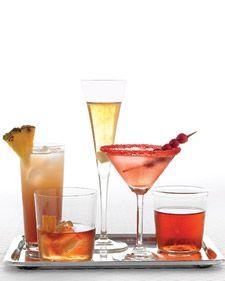 Cranberry Martinis...