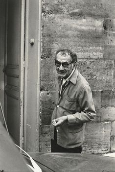 Man Ray, Paris 1969. by Henri Cartier-Bresson