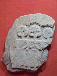 Relief of Celtic Mother Goddesses found in Cleveland Walk near Roman Bath