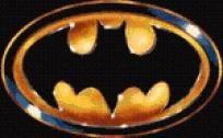 Batman Logo Cross Stitch Pattern - pdf