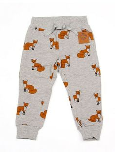 I want these in my size!  Fox sweatpant grey melange
