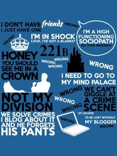 Sherlock's quotes....