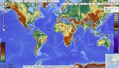 MAPS-FOR-FREE:  Jedinečná mapa sveta s vrstvami, ktoré v Google maps ani iných mapách nenájdete. Prehľadne vyobrazený zemský povrch, možnosť zapínania a vypínania vrstiev, ako napr. vodstvo, mestá, hranice, typy krajín apod. Pre školské potreby snáď najlepšia mapa na nete!