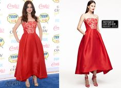 Odeya Rush in Monique Lhuillier | 2014 Teen Choice Awards