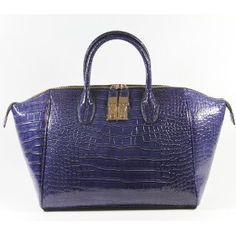 Purple Alligator Large Tote / Handbag Lady Purse -LIMITED EDITION- (B030) --- http://www.pinterest.com.welik.es/5ja