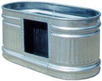 Behlen Country RE226W1 165-Gallon Galvanized Waterer Tank