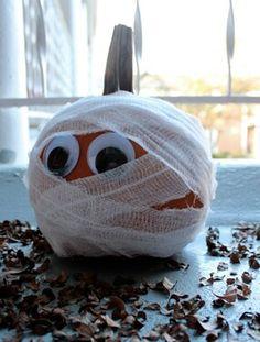 No carve pumpkin.