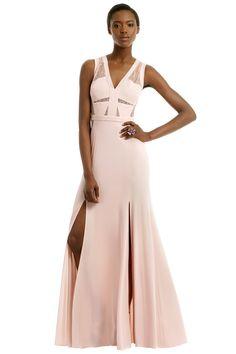 BCBGMAXAZRIA Last Summer Rose Gown