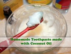 Homemade Toothpaste made with Coconut Oil   Natural Beauty Island