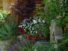 #uncommon & #contest      My mother has a green thumb.  She could make a garden in the Sahara.  The garden english garden, cottag garden, cottage gardens, green, cottag getaway, colors, vine, little cottages, garden fences