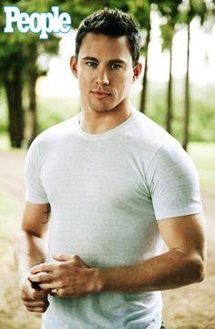 Channing Tatum-Sexiest man alive 2012..I agree!