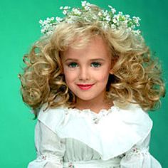 Beautiful Jonbenet Ramsey killed and molested in the basement of her parents house on December 25,1996 She was 6 yrs old