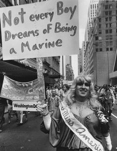 """""""Not every boy dreams of being a Marine"""" #feminism #gsm #lgbtq #sexism"""