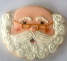 cake, christma cooki, cooki decor, santa claus, santa face, santa cooki, cookie cutters, cooki cutter, decor cooki