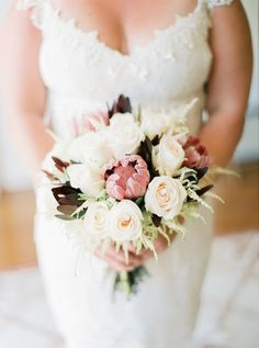 Rustic Elegance -- Destination Wedding in Algarve, Portugal from André Teixeira, Brancoprata. This #Bouquet is the tip of the wedding iceberg! See more on Style Me Pretty: http://www.StyleMePretty.com/2014/02/27/rustic-destination-wedding-in-algarve-portugal/