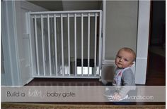Build a better baby gate by newlywoodwards