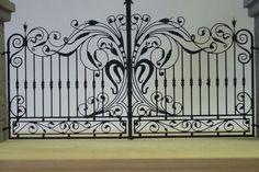 Cancello artistico in ferro...
