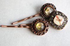 love these vintage hair pins