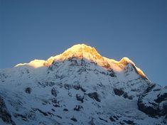 Sunrise on Annapurna